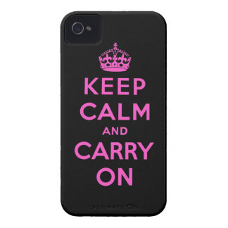 keep calm and carry on blackberry case