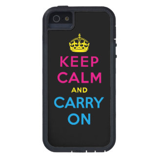 keep calm and carry on - CMYK Cover For iPhone 5