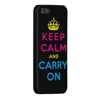 keep calm and carry on CMYK Cover For iPhone SE/5/5s