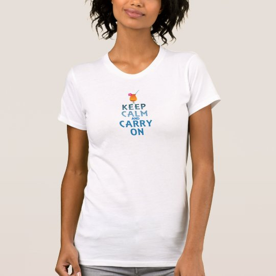 Keep Calm and Carry On Cocktail Tee