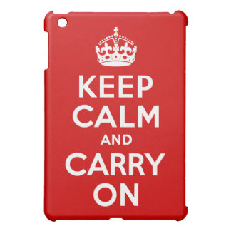 Keep Calm and Carry On Cover For The iPad Mini