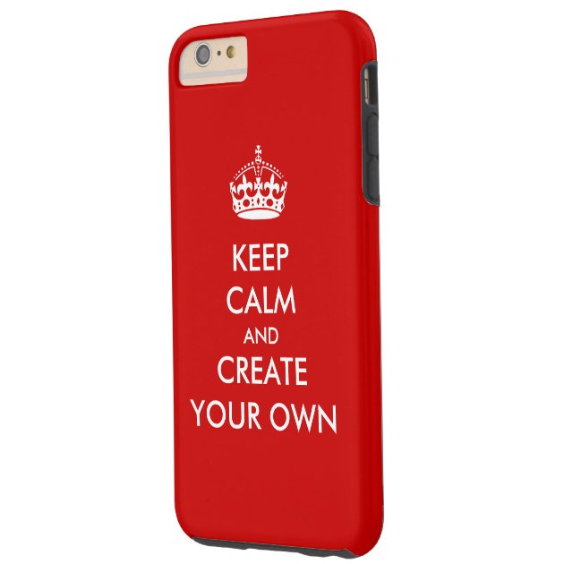 Case Design zippo phone case : ... Carry On Create Your Own : White Red Tough iPhone 6 Plus Case : Zazzle
