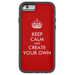 Case-Mate Barely There iPhone 6 Case with Keep Calm and Create Your Own design