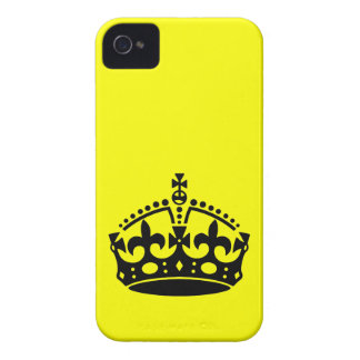 Keep Calm and Carry On Crown iPhone 4 Case