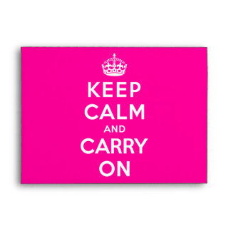 Keep Calm and Carry On Envelope