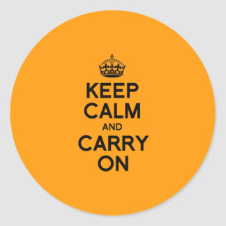 KEEP CALM AND CARRY ON - Halloween -.png Stickers