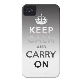 Keep Calm and Carry On iPhone4/4S Case