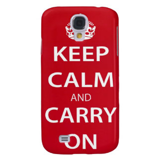 Keep Calm And Carry On iPhone 3 Case