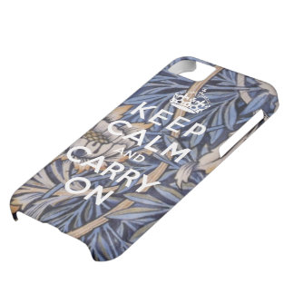 Keep Calm and Carry On iPhone 5 Case Flower