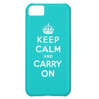 Keep Calm And Carry On iPhone 5C Cover