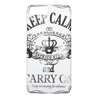 Keep Calm and Carry On iPhone 7 Plus Case