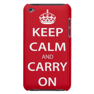 Keep Calm and Carry On iPod Touch Case
