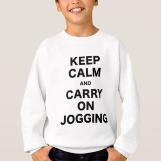 Keep Calm and Carry On Jogging Sweatshirt
