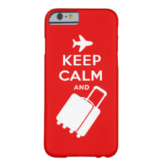 Keep Calm and Carry on Luggage Barely There iPhone 6 Case