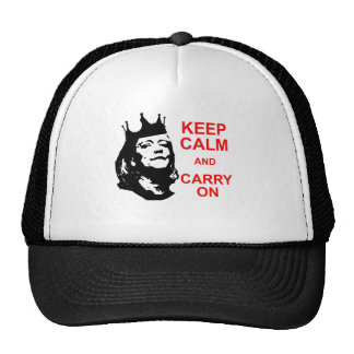 Keep Calm and Carry On, Meg Trucker Hat