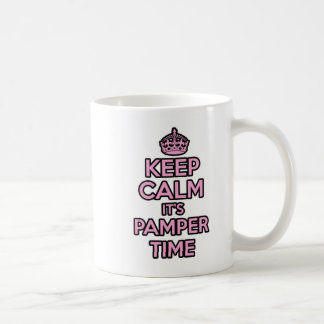 Keep Calm and Carry on mug - It's Pamper Time!