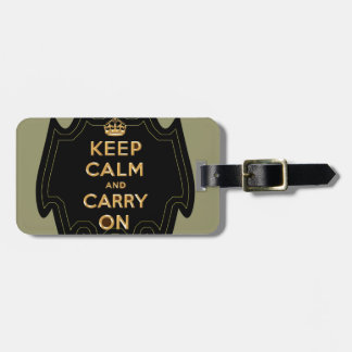 Keep Calm and Carry On ,multiple products selected Luggage Tag