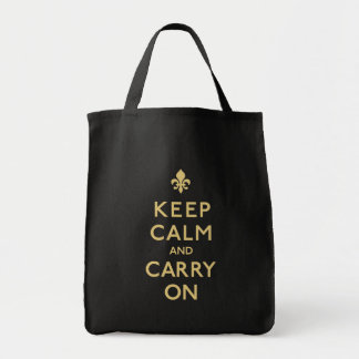Keep Calm and Carry On, New Orleans! Tote Bag