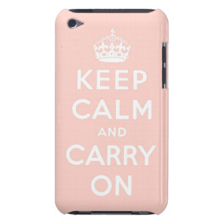 keep calm and carry on Original Barely There iPod Cover