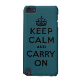 keep calm and carry on Original iPod Touch (5th Generation) Case