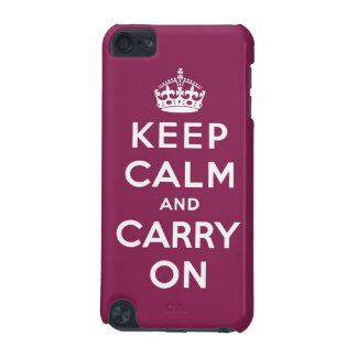 keep calm and carry on Original iPod Touch 5G Cases