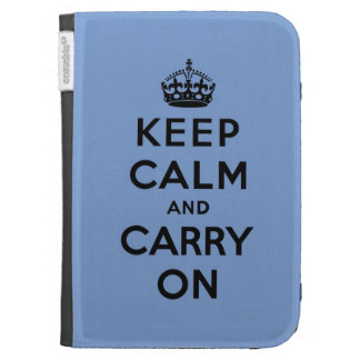 keep calm and carry on Original Kindle Case