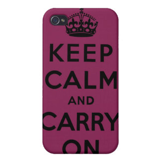 keep calm and carry on Original Case For iPhone 4