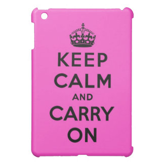 keep calm and carry on Original Case For The iPad Mini