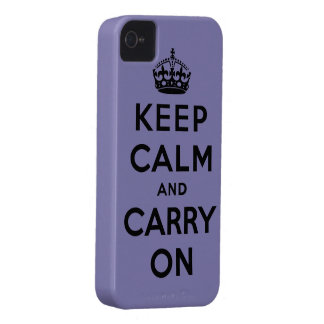keep calm and carry on Original Case-Mate iPhone 4 Cases