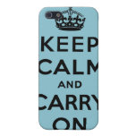 keep calm and carry on Original Cases For iPhone 5