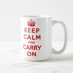 keep calm and carry on Original Coffee Mug