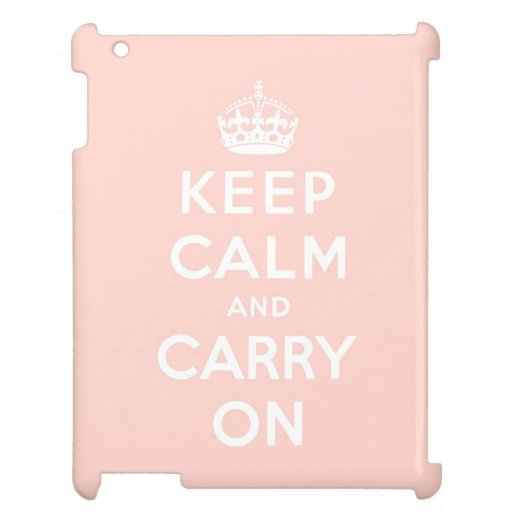 keep calm and carry on Original Cover For The iPad 2 3 4