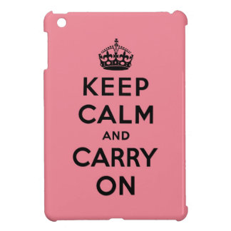keep calm and carry on Original iPad Mini Cases