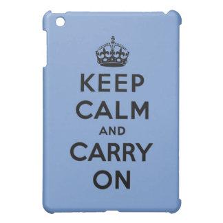 keep calm and carry on Original iPad Mini Covers
