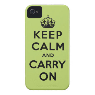keep calm and carry on Original iPhone 4 Cover