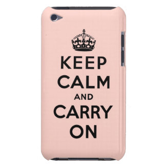 keep calm and carry on Original iPod Touch Case-Mate Case