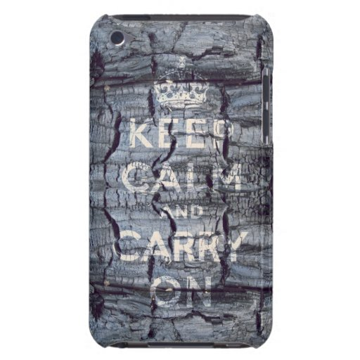 keep calm and carry on Original iPod Touch Cases