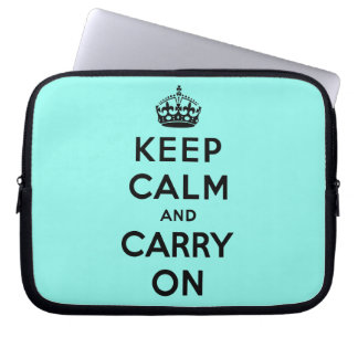 keep calm and carry on Original Laptop Sleeve