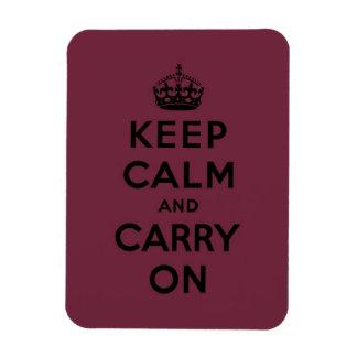 keep calm and carry on Original Magnet