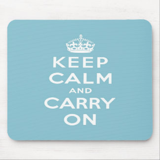 keep calm and carry on Original Mouse Pad