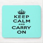 keep calm and carry on Original Mousepad