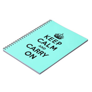 keep calm and carry on Original Note Book