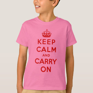 keep calm and carry on Original T-Shirt