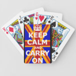 KEEP CALM AND CARRY ON POKER DECK