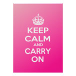 Keep Calm and Carry On Posters