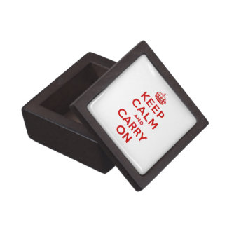 Keep Calm and Carry On Premium Gift Box