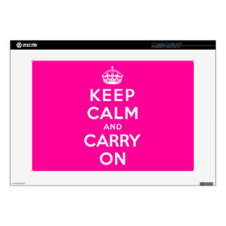 Keep Calm and Carry On Skin For Laptop