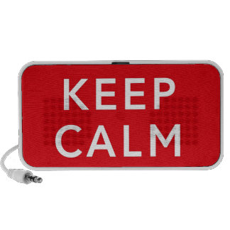 Keep Calm and Carry On Mini Speakers