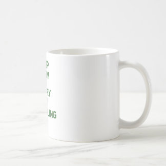 Keep Calm and Carry On Traveling Coffee Mug