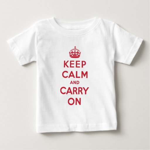 Keep Calm And Carry On Tshirt
